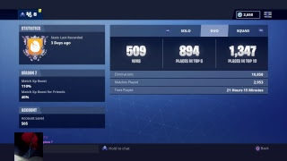 Fortnite PS4 Gameplay Live // Solo gOd 1800+ Wins // Solo Pop Up Cup Gameplay