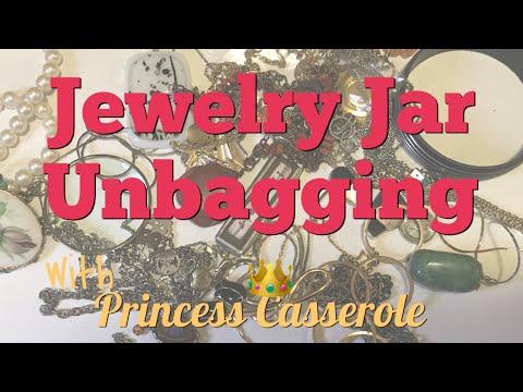Jewelry Jar Unjarring | Jewelry Jar Unboxing (2018)