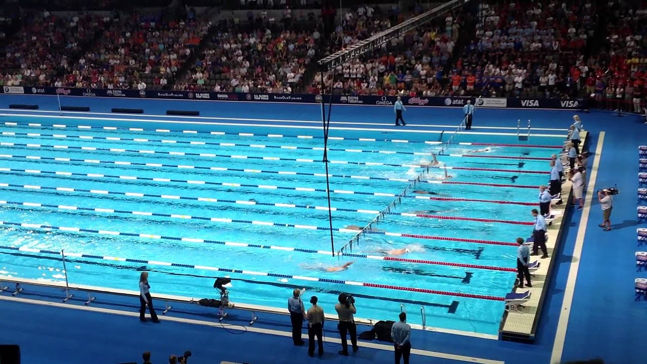 lochte 400im finals 2012 olympic swimming trials youtube