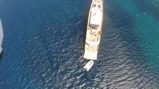Mykonos Luxury Yachting Party on a Luxury Yacht  CRN 128 ft