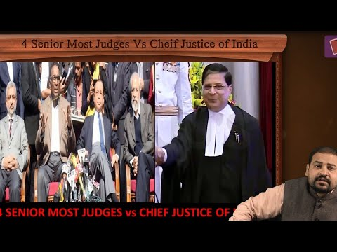 Chief Justice of India vs Senior Supreme Court Judges