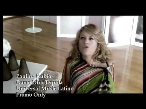 Paulina Rubio - Dame Otro Tequila [HQ]
