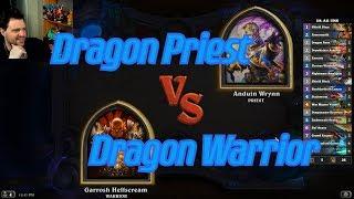Dragon Warrior vs Dragon Priest - Hearthstone