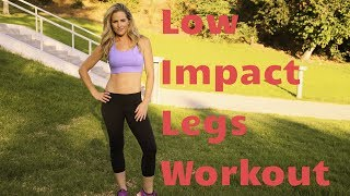 16 Minute Standing Low Impact Legs WorkoutNo Squats or Lunges!