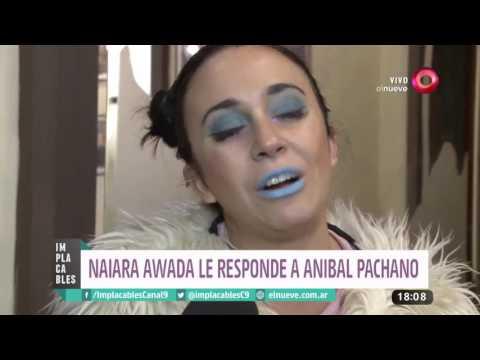 Anibal Pachano destrozó a Naiara Awada