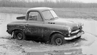Минимобиль из СССР! Забытый перспективный Советский вездеход! ГАЗ-М73