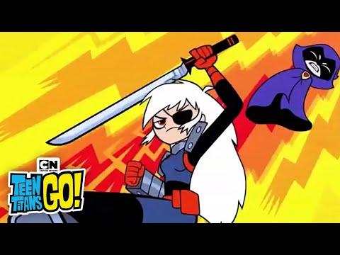Raven vs. Ravager I Teen Titans Go! I Cartoon Network