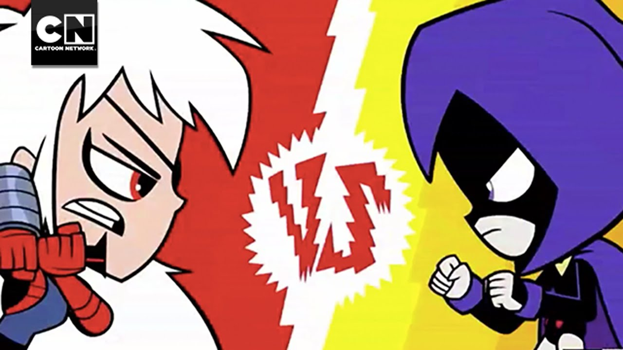 Raven vs. Ravager - Teen Titans Go! Videos - Cartoon Network