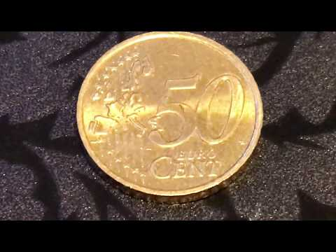 Nordic Gold - 50 Euro Cent Coin from Ireland