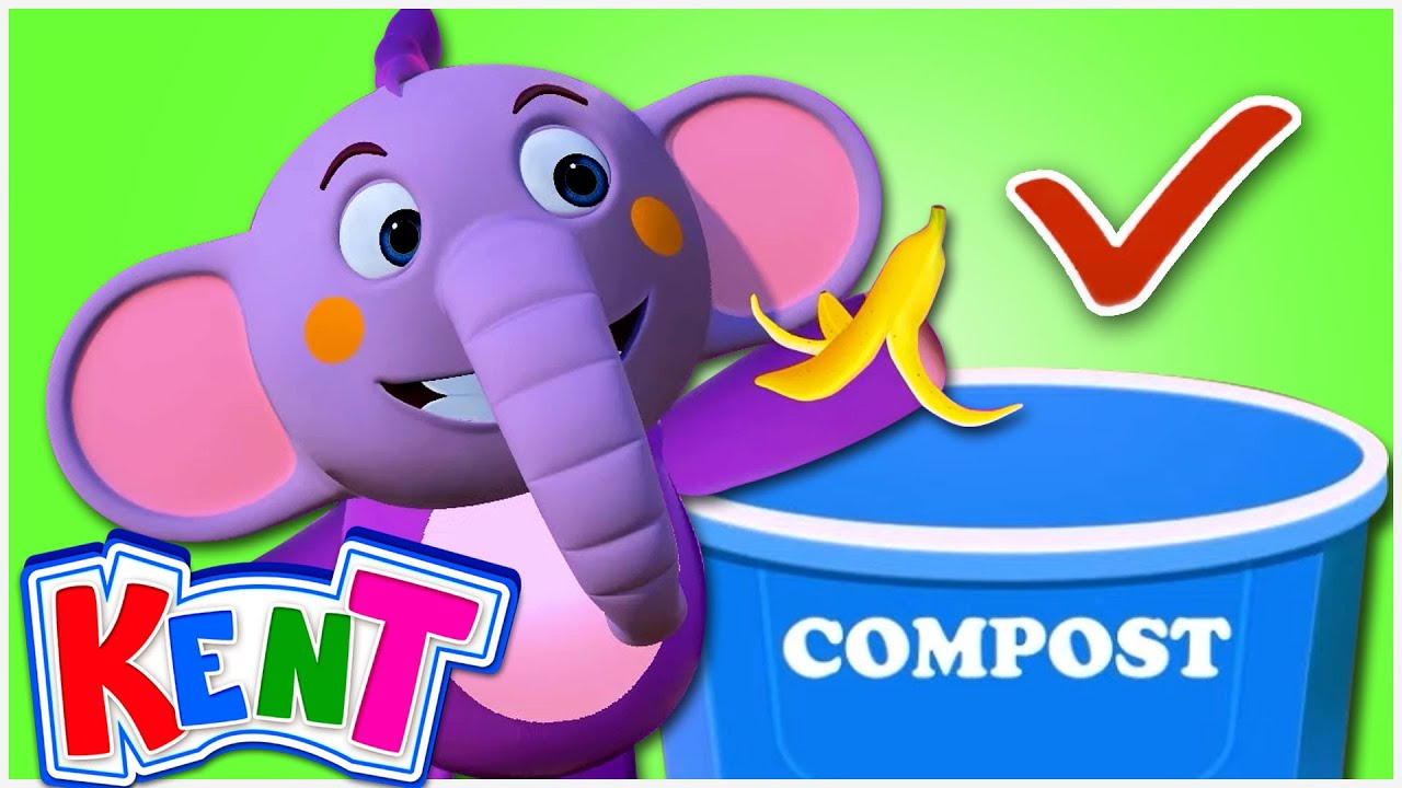 Learn to Sort Trash With Kent | Garbage Sorting Rules | Educational Videos For Kids