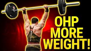 5 Tips To Increase Your Overhead Press! | GET RESULTS FAST!