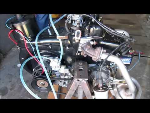 Fiat 126p 600 Ccm - Pierwsze Odpalenie Silnika Po Remoncie