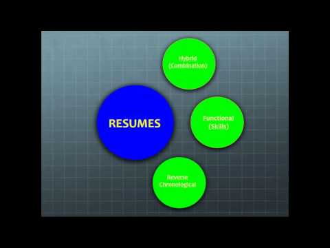 Resume and Cover Letter Writing 101