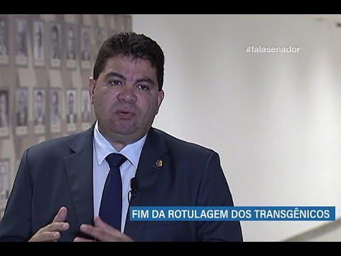 #falasenador: Cidinho aborda exigências para identificação de alimentos transgênicos