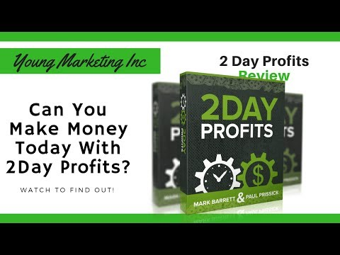 2 Day Profits Review | Can you Make Money 2 Day? Watch to Find out!