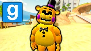 BRAND NEW GOLDEN TOY FREDDY FNAF 2 PILL PACK in Gmod HIDE AND SEEK - Five Nights at Freddy's Gmod