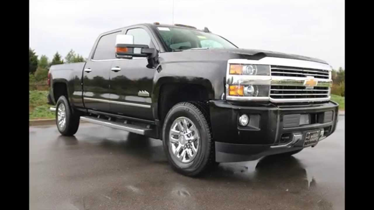 2016 Chevrolet Silverado 3500 Hd High Country Duramax 4x4 Black At Wilson County Chevy Tn You