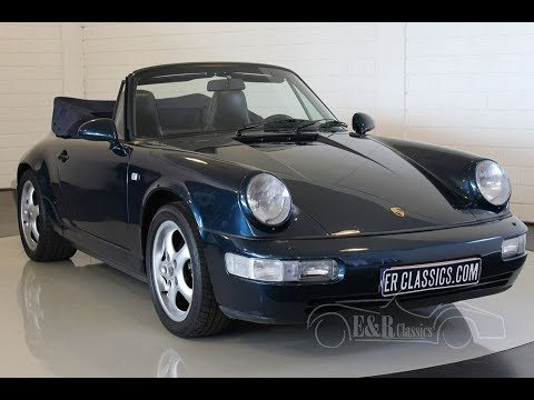Porsche 911 964 Carrera 2 Cabriolet 1991 Video Wwwerclassicscom
