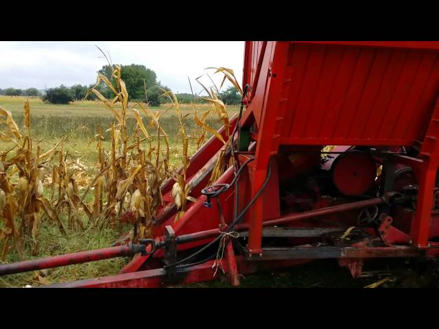 Mali Imt + Zmaj 2k berac berba kukuruza 2015