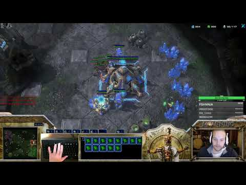MCanning vs Winter (not wintergaming) PvZ, high templar storm drop play???