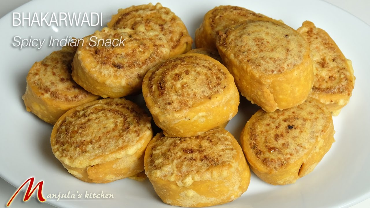 Bhakarwadi (Spicy Indian Snack) Recipe by Manjula