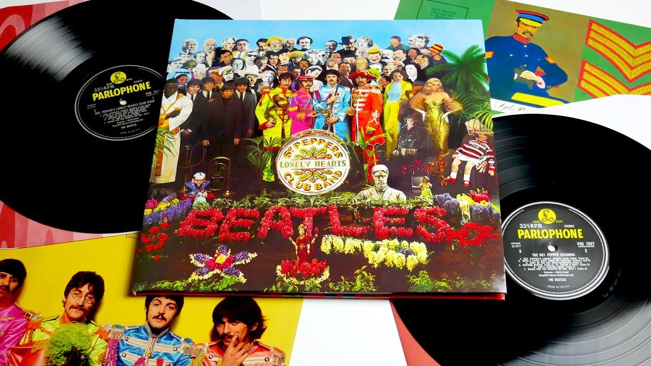 The Beatles Sgt Pepper S 50th Anniversary Edition Vinyl