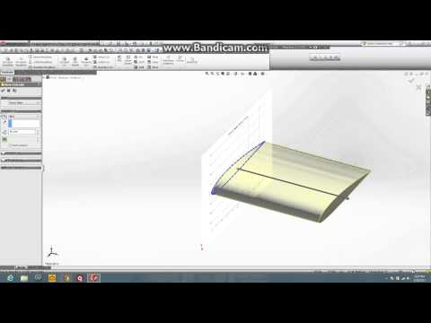 Airfoil with winglet tutorial