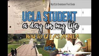 Follow me around: UCLA Student l HOW TO GET AN A AT UCLA