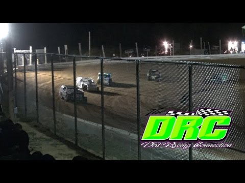 Jackson County Speedway | 5.6.16 | Lucas Gilbert Memorial | AMRA Modifieds | Heat 3