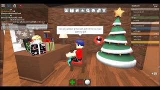"Me Being Funny On ""Work At A Pizza Place"" On ROBLOX! 