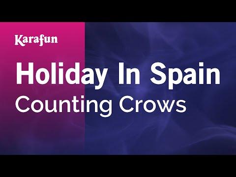 Karaoke Holiday In Spain - Counting Crows *