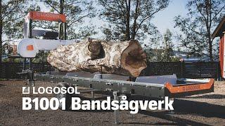 B1001 Bandsågverk