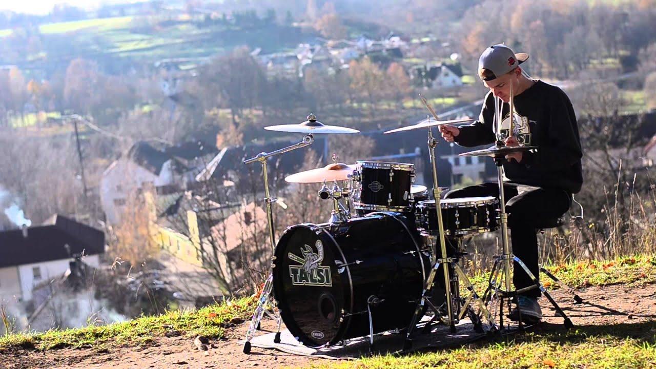 Kristers - Calvin Harris - Blame ft. John Newman (Drum Cover)