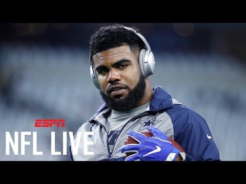 Will Ezekiel Elliott Get 2,000 Rush Yards This Season? | NFL Live | ESPN