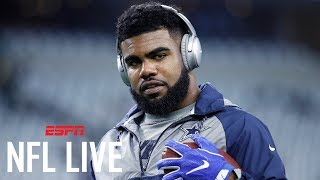 Will Ezekiel Elliott Get 2,000 Rush Yards This Season? | NFL Live | ESPN