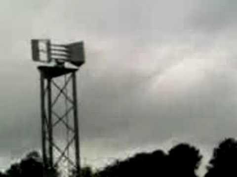 Jackson County, GA 8-26-08 Tornado Siren Sounding