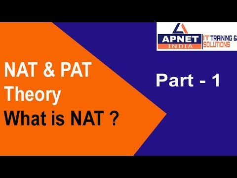 CCNA R&S (200-125) Part - 1 NAT In Hindi || PAT  || Static NAT In Hindi