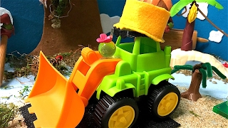 Tractor videos - Planes for kids - Boats for children - Tractor goes to Hawaii