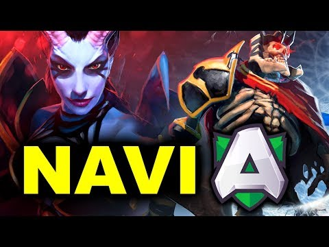 NAVI vs ALLIANCE - EL CLASICO - VALENTINE MADNESS WePlay! DOTA 2 thumbnail