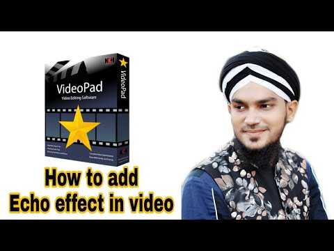How to add echo effect in video | #Mohsinrazaqadri