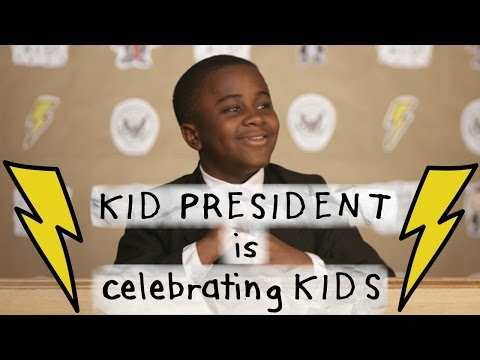 Kid President is BACK with BIG NEWS! #YearoftheKid