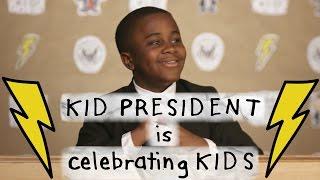 Kid President is BACK with BIG NEWS! #YearoftheKid