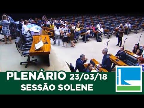 PLENÁRIO - Solene - Síndrome de Down - 23/03/2018 - 15:36