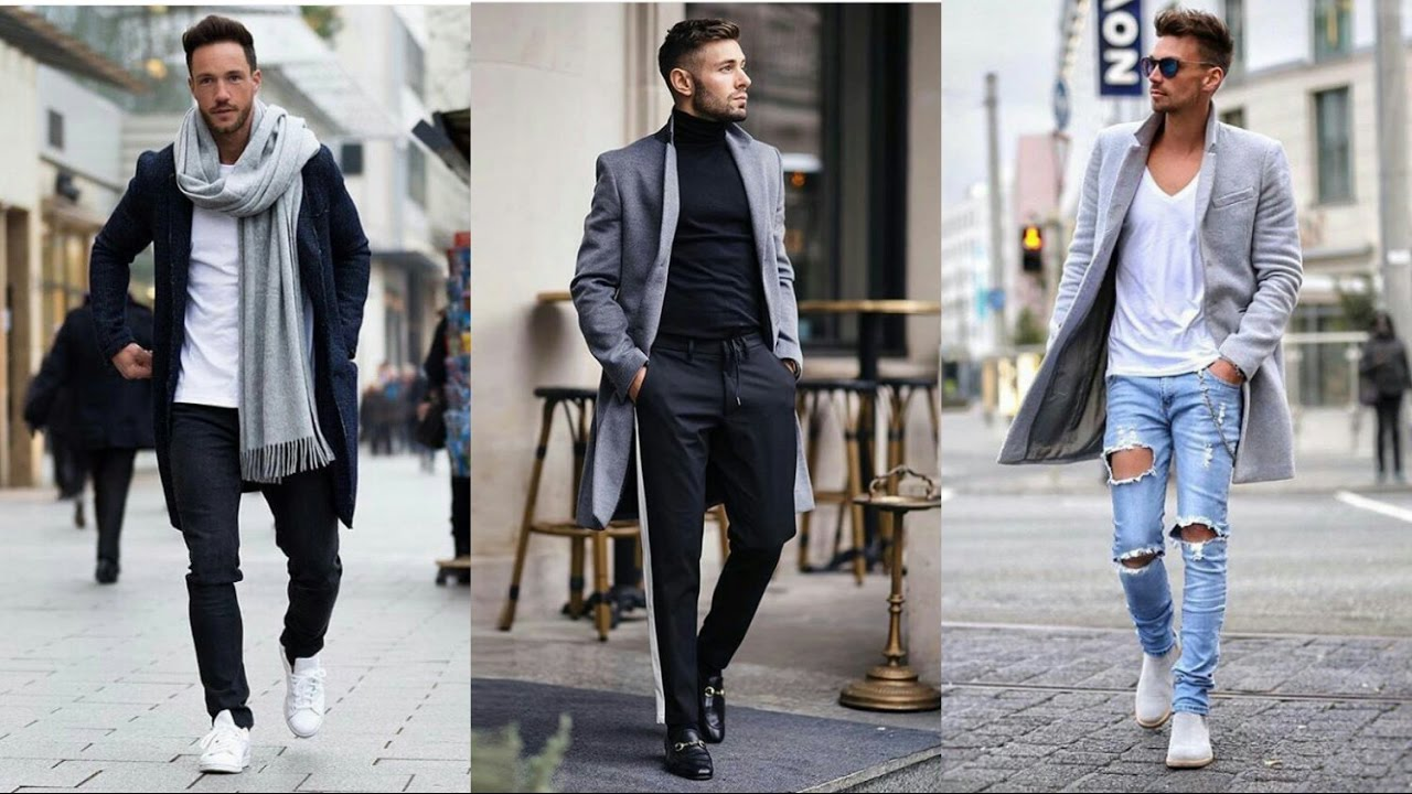 63680b3ab MODA HOMBRES Invierno 2018 2019 | street style | Outfits how to wear | cómo  vestir ropa chicos
