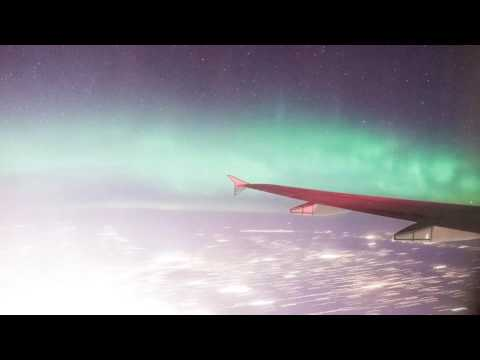 Geomagnetic Storm Captured Mid-Flight Over Alberta