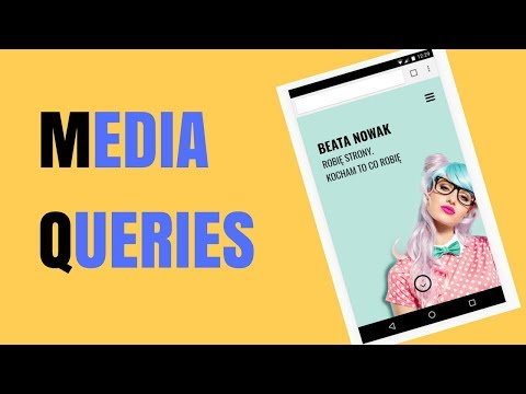 Strona nie tylko na desktop, ale i na mobile. Media Queries. Robimy stronę #8