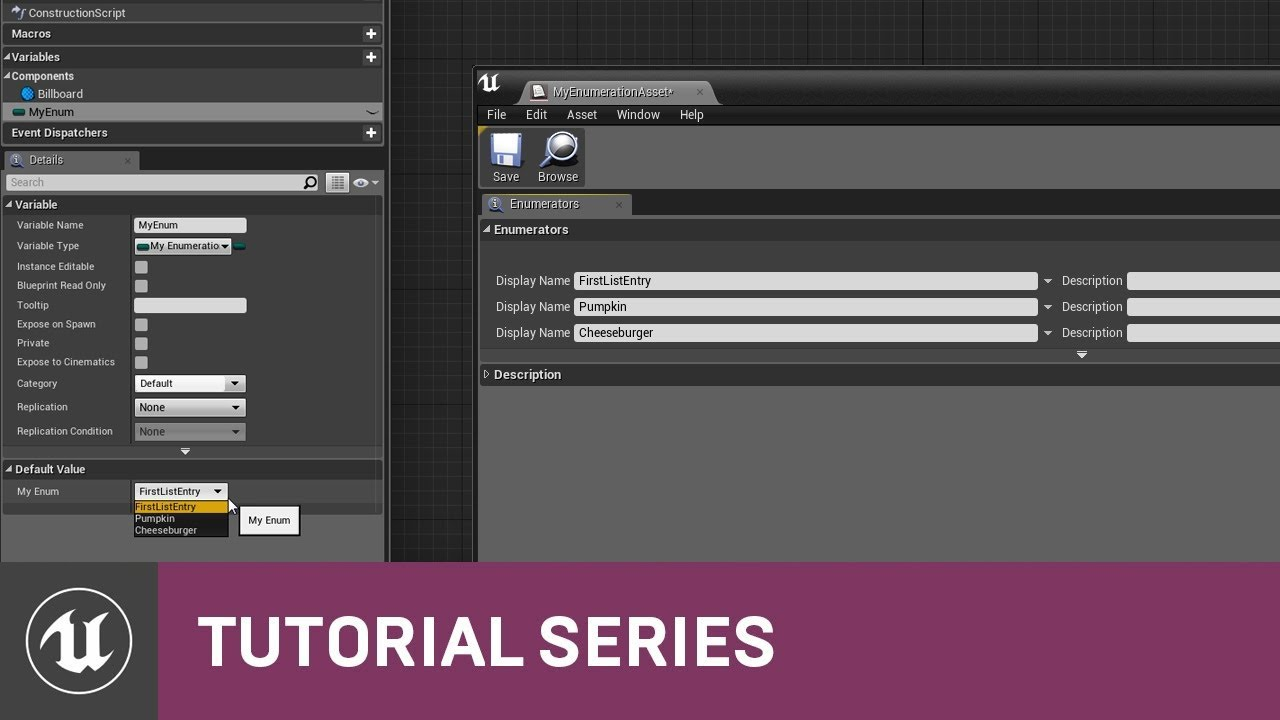 Blueprint essentials enum variables 05 v42 tutorial series blueprint essentials enum variables 05 v42 tutorial series unreal engine malvernweather Image collections