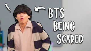 BTS being scared :)