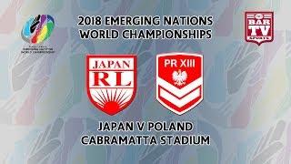 2018 Emerging Nations World Championships - Pool C - Japan v Poland
