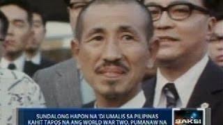 Saksi: Sundalong Hapon na